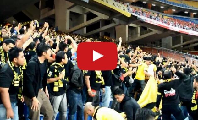 Beredar Video Suporter Malaysia Soraki Indonesia Itu Anj*ng