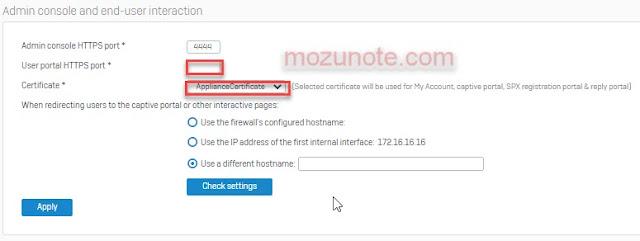 Mozunote.com-Cara Setting SSL VPN di Sophos XG server