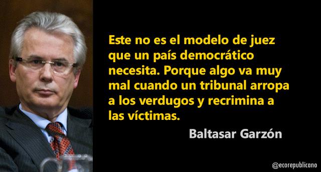 Baltasar Garzón: Vergüenza