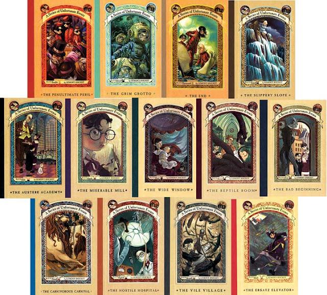 Resultado de imagem para livros desventuras em série