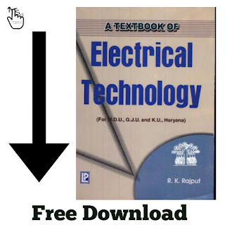 Free Download PDF Of Electrical Technology Book By R K Rajput