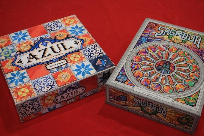 Azul czy Sagrada? - porównanie pięknych gier abstrakcyjnych