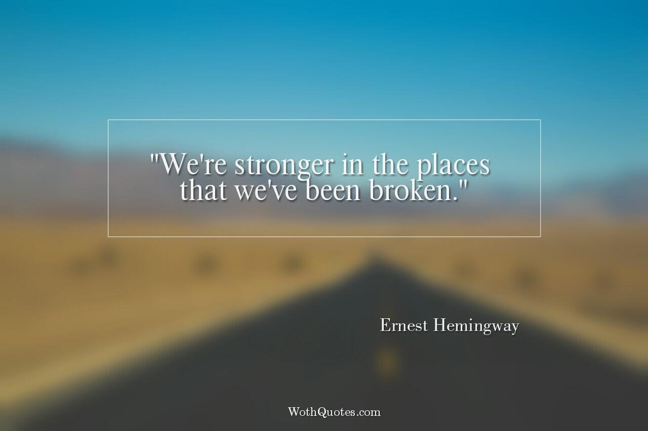 Relationships based on obligation lack dignity wayne dyer - Ernest Hemingway Quotes