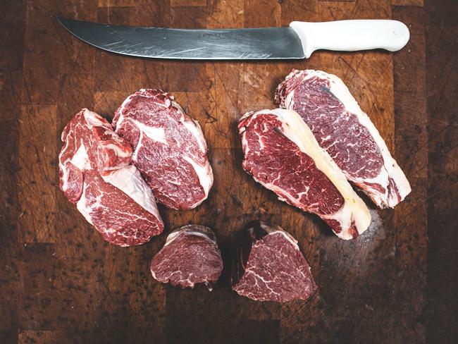 Carnes maduradas premium