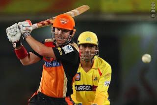 David Warner 90 - CSK vs SRH 50th Match IPL 2014 Highlights