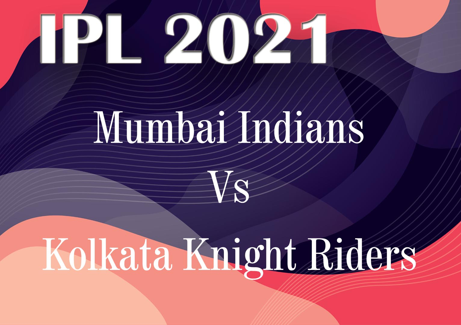 Highlights of Kolkata Knight Riders vs Mumbai Indians Match 5 IPL 2021.
