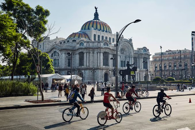 Cicloturismo Ciudad México país