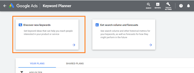 How to use Google Keyword Planner tool to find Keyword Ideas.