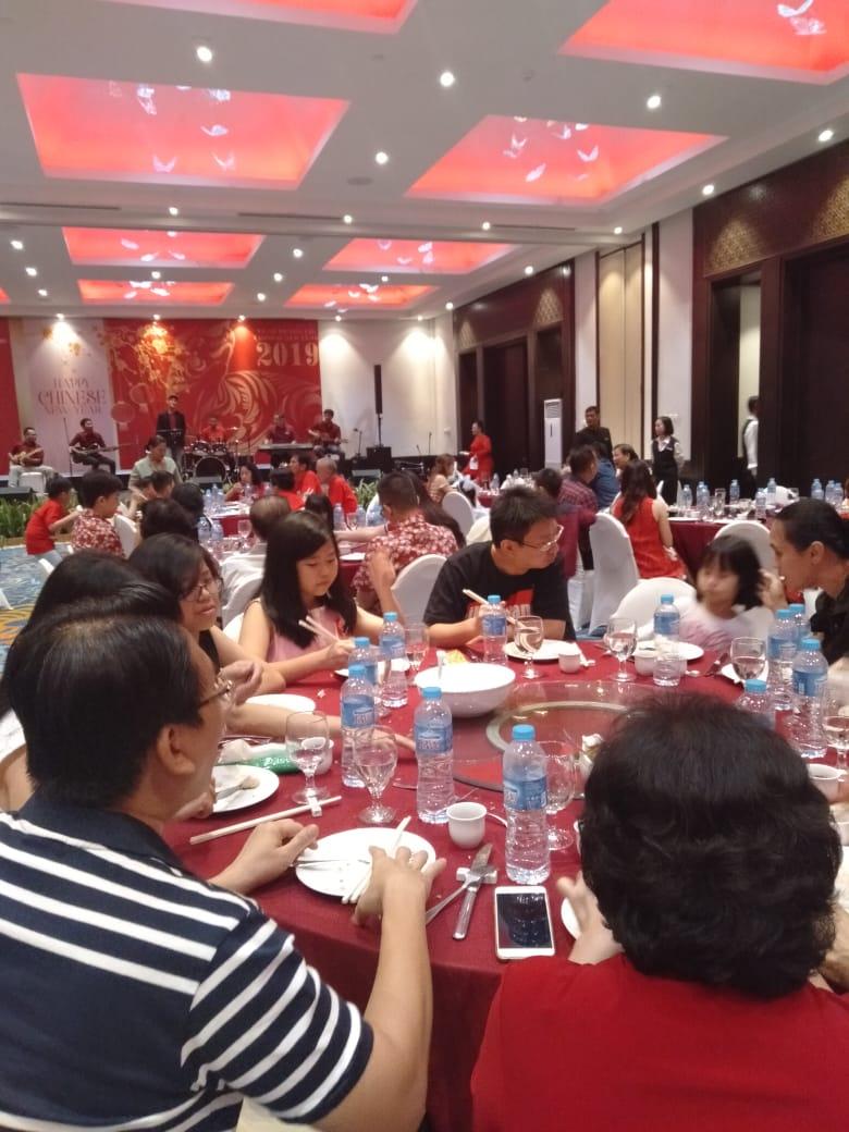Hotel Sheraton Lampung Gelar Imlek's Dinner