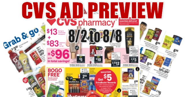 CVS Ad Scan 8-2 to 8-8