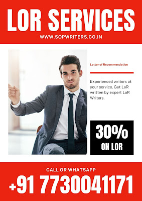 Letter of Recommendation Services