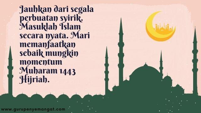 Gambar Ucapan Selamat Tahun Baru Islam 1443 H Melayu 7
