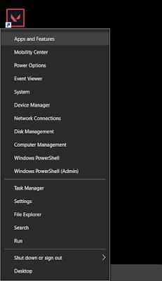 Right-Click Start Menu To Access Additional Menu