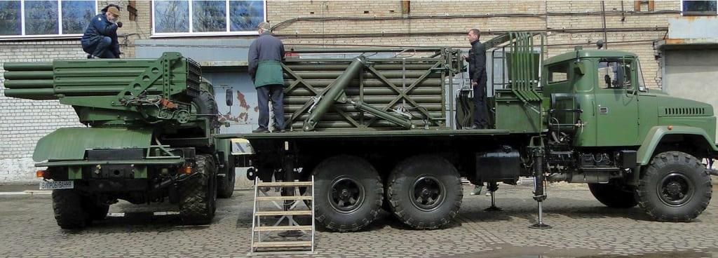 Військові отримають партію нових РСЗВ Верба