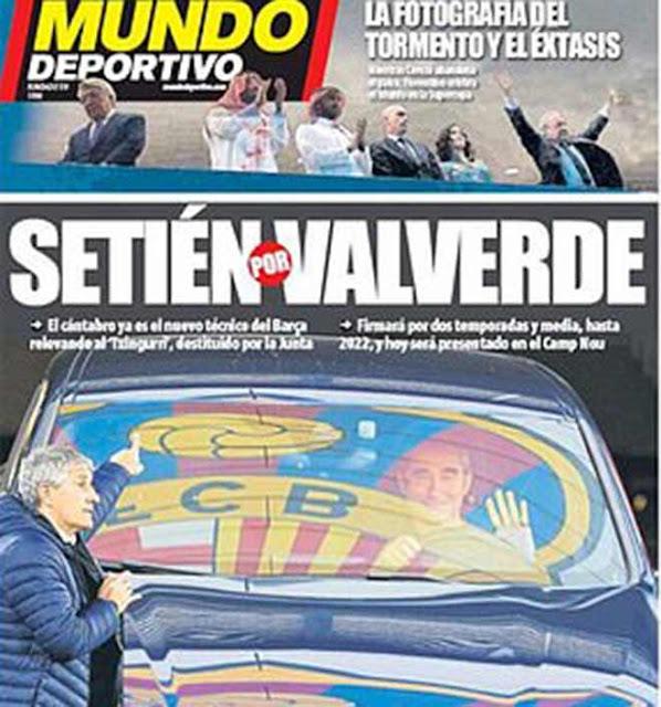 HLV Valverde bị sa thải: Barca bị báo nhà chê kịch liệt, nói gì về HLV mới?