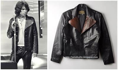 Gambar Model Jaket Kulit Jim Morrison Rock N Roll