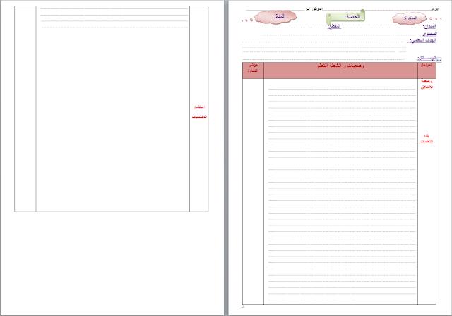 اليوم نقدم لكم نموذج فارغ لمذكرة الجيل الثاني  بصيغة word جاهز لتعديل والطباعة.