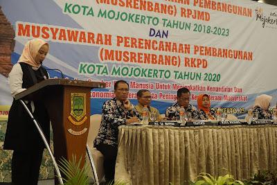 Ini Masukan DPRD Kota Mojokerto di Musrenbang RKPD Tahun 2020