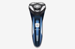 Máquina de afeitar eléctrica IPX7 recargable 100% impermeable