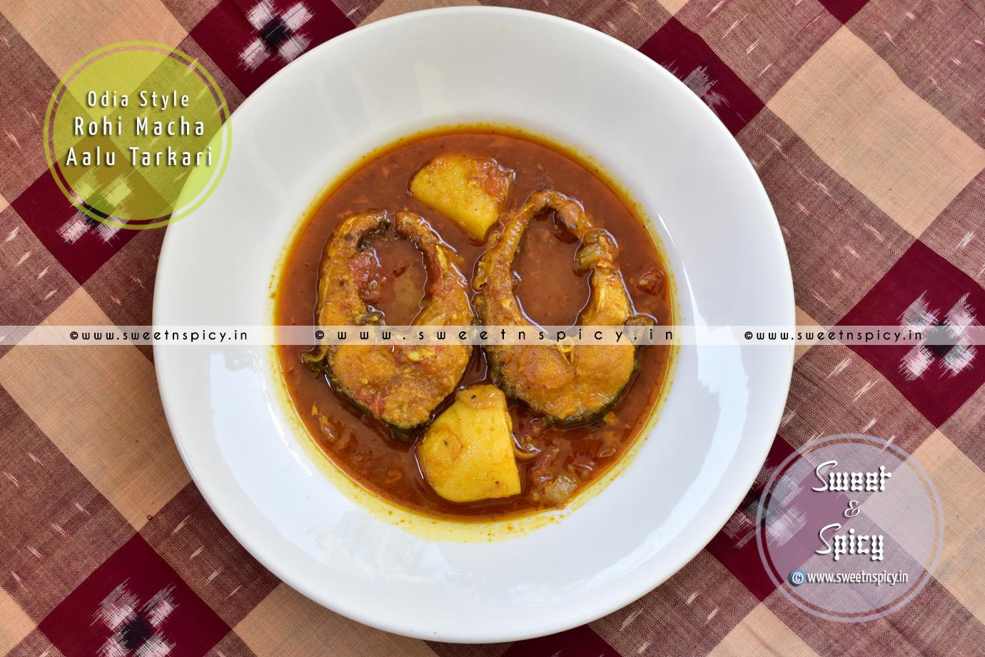 Rohu Fish Curry (Rohi Macha Tarkari)