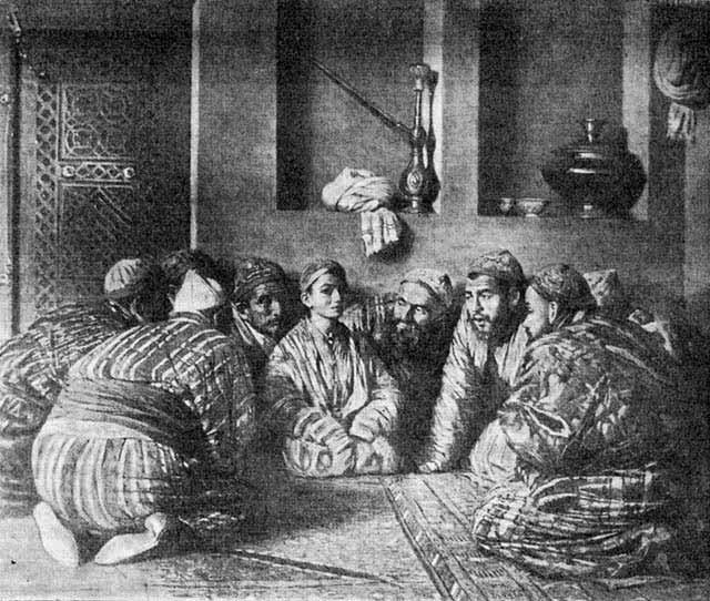 Василий Васильевич Верещагин - Бача и его поклонники. 1868
