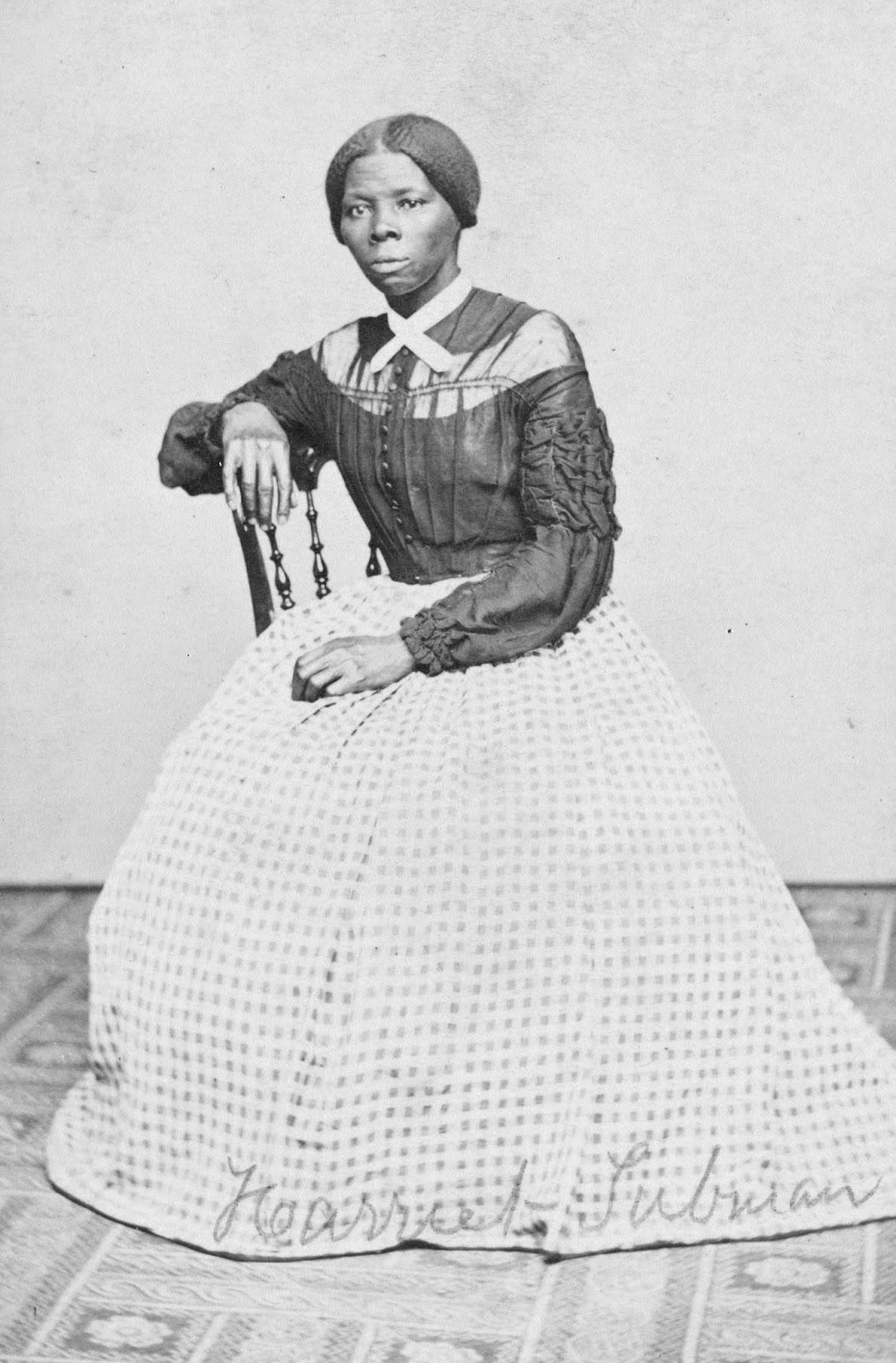 Carte De Visite Portrait Of Harriet Tubman By Photographer Benjamin F Powelson Auburn New York 1860s