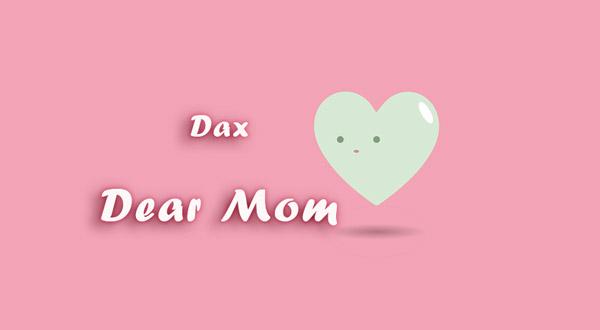 dax dear mom lyrics
