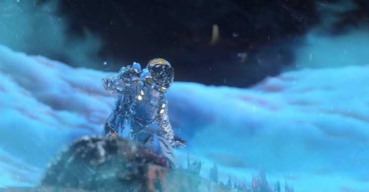 Uranüs çok ama çok soğuktur, hiçbir canlı o soğukta hayatta kalamaz.