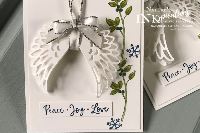 Angel Wings by Angie McKenzie for a Snow Sunday blog post; Click READ or VISIT to go to my blog for details! Featuring the retired Dove of Hope Bundle and the Stitched Triangle Dies by Stampin' Up!®; #angelwings #stampinup #cardtechniques #cardmaking #doveofhopebundle #doveofhopestampset #detaileddovedies #stitchedtriangledies #diecutting #naturesinkspirations #stampinblends #handmadecards #augdec2020minicatalog #stampinupinks #stampingtechniques #snowysunday