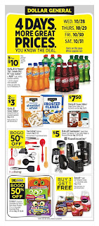 ⭐ Dollar General Ad 10/25/20 and 11/1/20 ⭐ Dollar General Weekly Ad October 25 2020