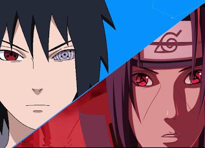 Uchiha Sasuke vs Uchiha Itachi