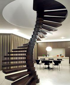 Model Tangga Spiral