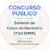 PREPARATÓRIO PARA O CONCURSO DE SOLDADO DO CORPO DE BOMBEIROS DE MINAS GERAIS