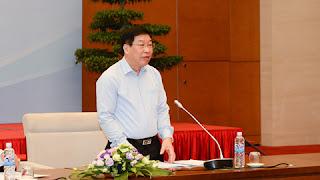 Phó chủ nhiệm UB Pháp luật Lê Minh Thông