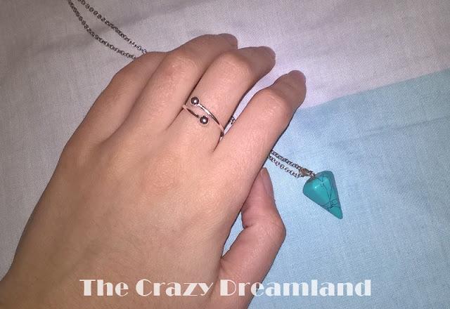 colgante y anillo harunouta