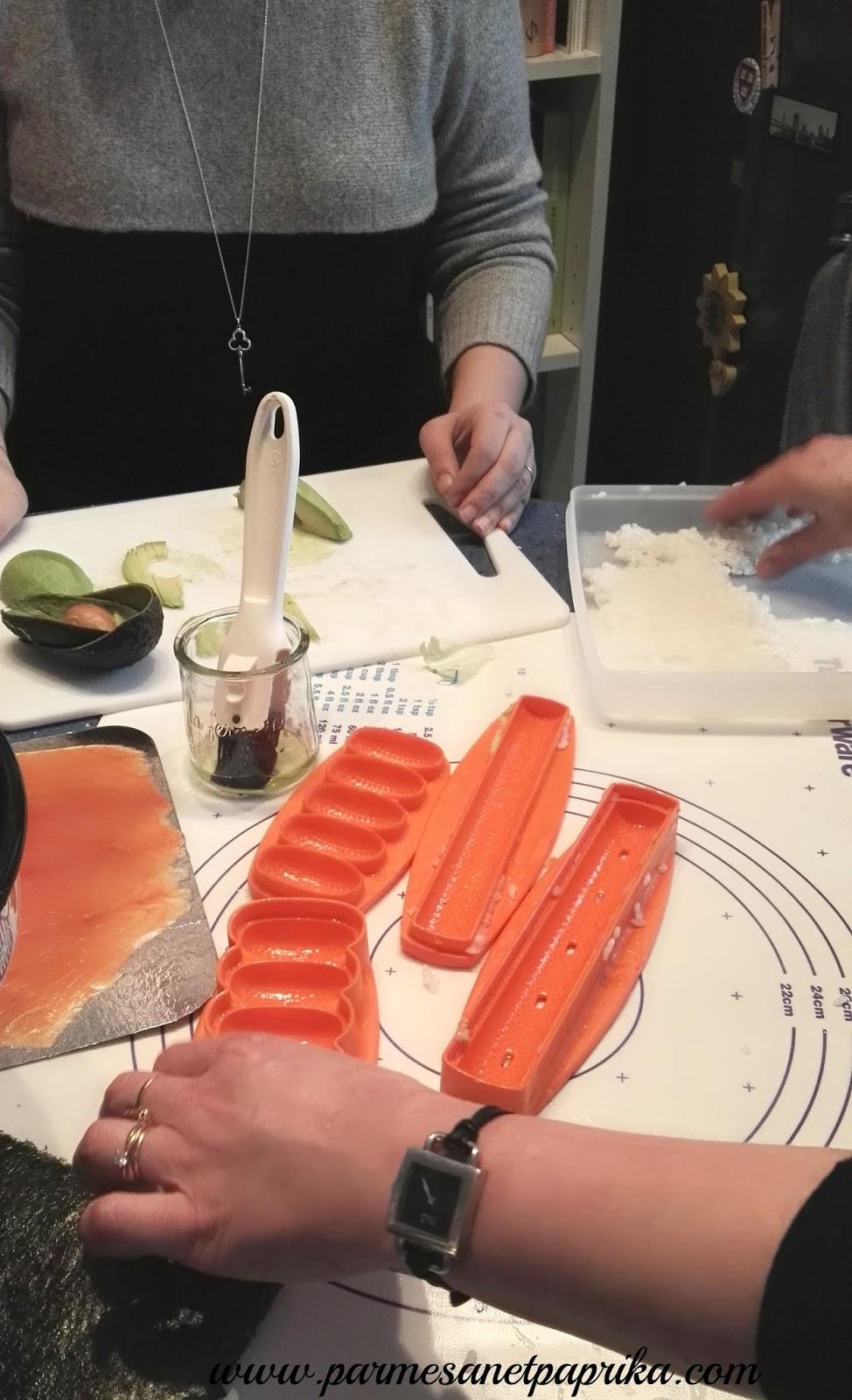 Atelier culinaire tupperware sushi et maki au programme - Atelier cuisine tupperware ...
