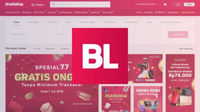 Marketplace Bukalapak Terpopuler dan Terbesar Indonesia