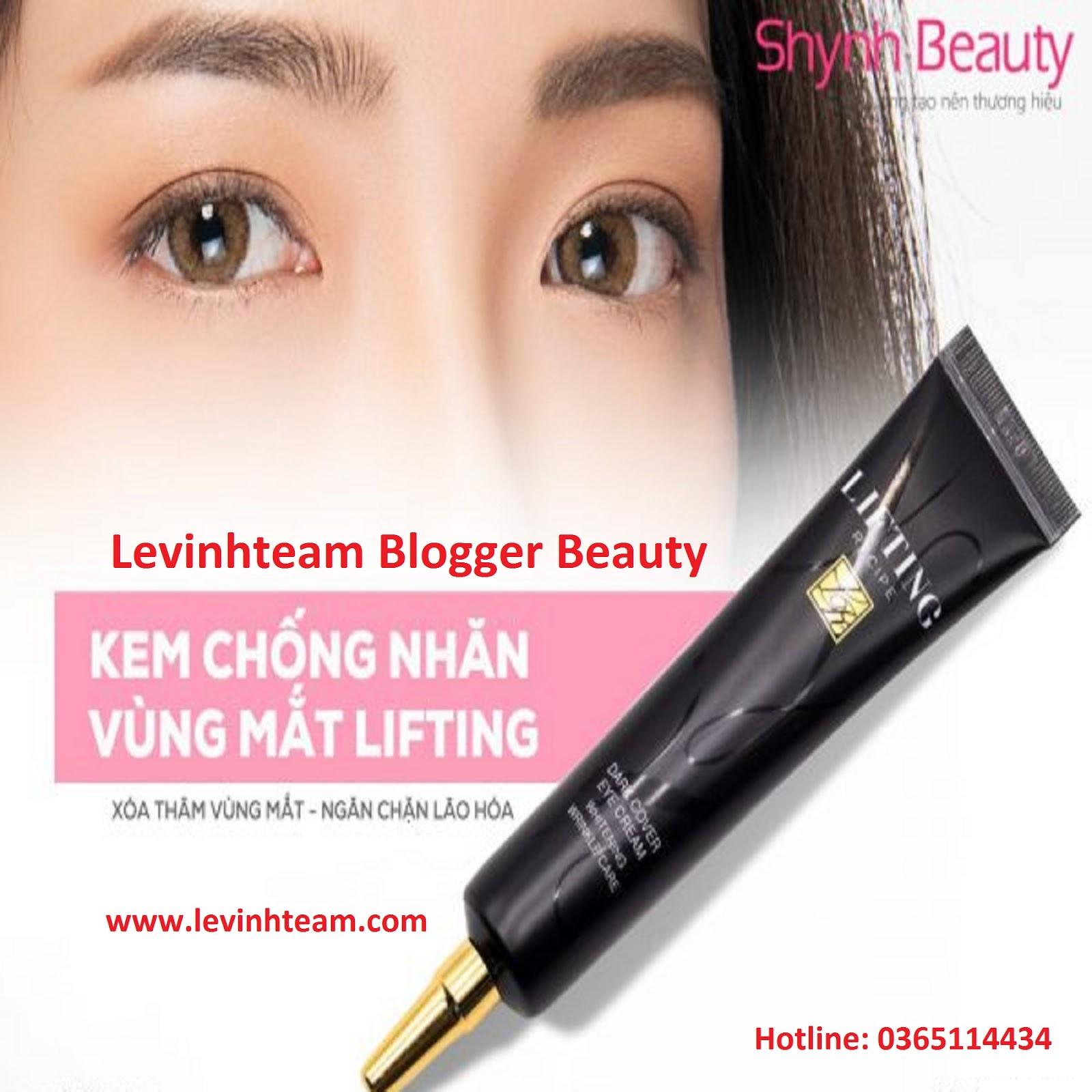 Kem Trị Thâm Vùng Mắt, Trẻ Hóa Vùng Mắt ShinNe   Levinhteam Blogger Beauty