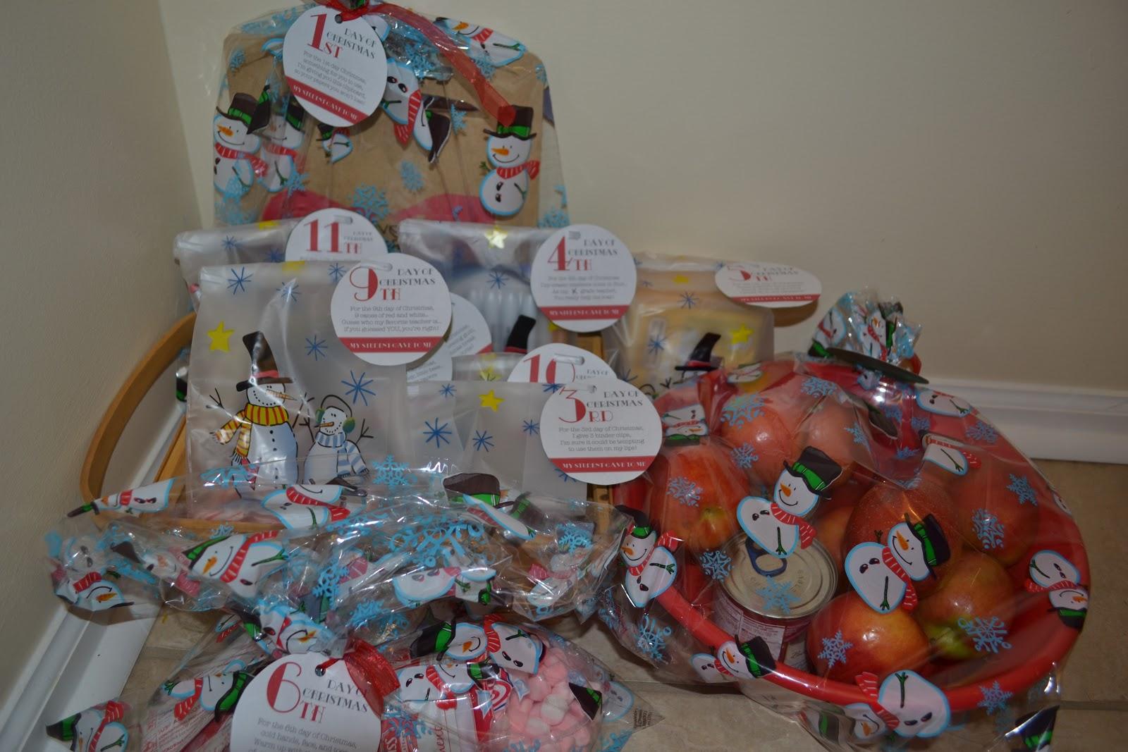 My Little Smarties: Christmas Gift For Teachers