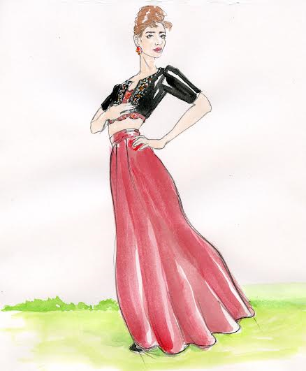 Fashionillustratorinterview, fashion, fashionblgoger,seattleblogger, art, fashionover40