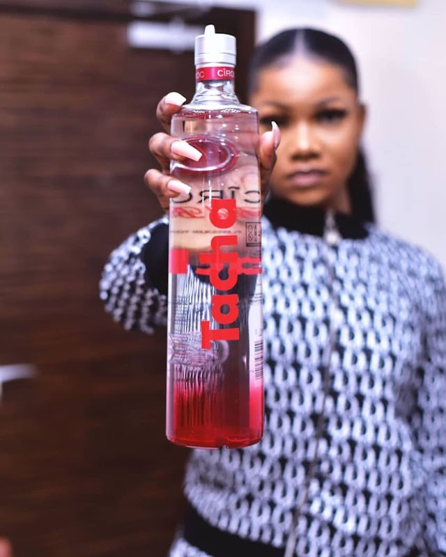 Tacha shade Bigbrother as she signs ciroc endorsement project(video)