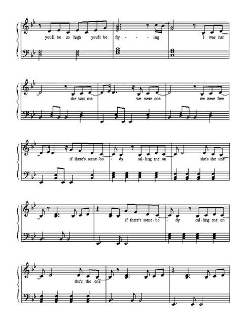 Partitura Piano Robie Williams