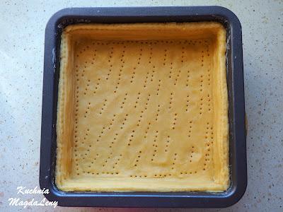 Tarta z ciasta półkruchego