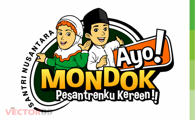 Ayo! Mondok, Pesantrenku Kereen!! - Download Vector File CDR, PNG, AI, SVG, EPS