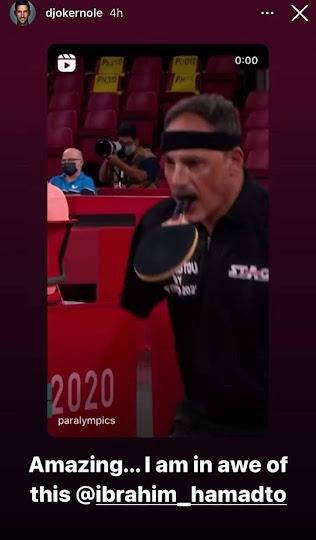 Djokovic's Hamadtou story