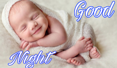 cute baby good night image pics photo Download for whatsapp