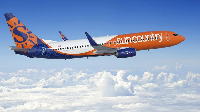 6. Sun Country Airlines in the US