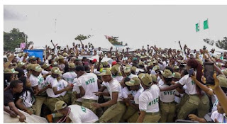 Davido smuggled to safety as crowd mob him at NYSC camp