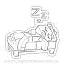 Steve enjoying a good nap   Cool Minecraft para Imprimir e Colorir