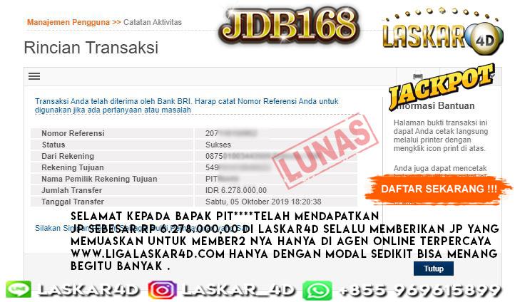 Mantul Bos Jackpot Slot Games JBDnya Tanggl 05 OKTOBER 2019